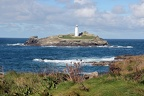 Godrevy in the sunshine, 11-Oct-2020